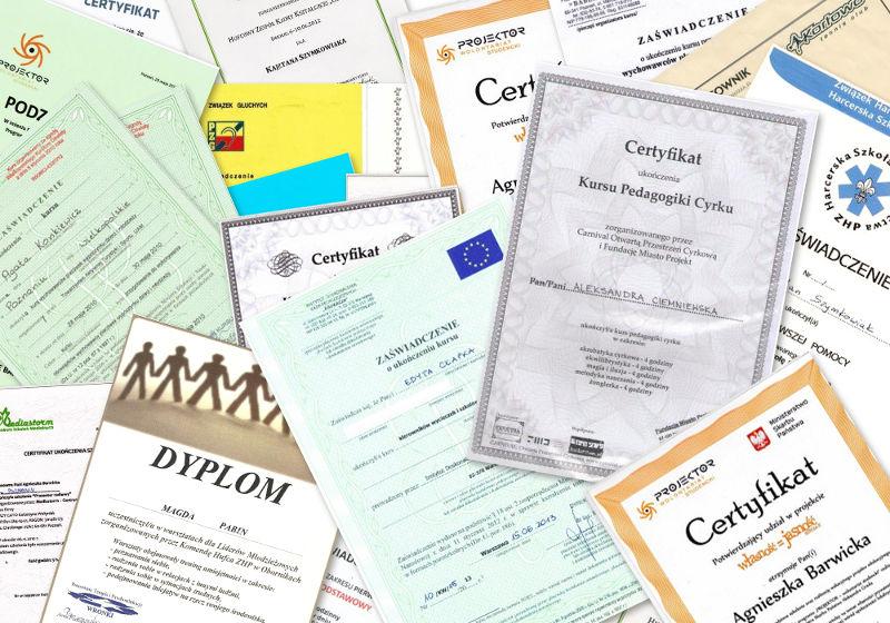 Dyplomy - Kortowo Dzieci